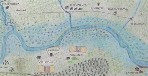 river thames ks2 anglo saxon london map updated londonist