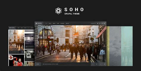 drupal themes photography soho fullscreen photo video drupal theme by refaktor