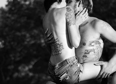 tattoo hot kiss couple cute kiss love photography image 287255 on