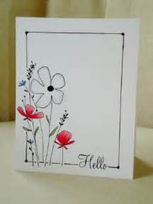 drawings for a birthday card simple and this cards scrapping