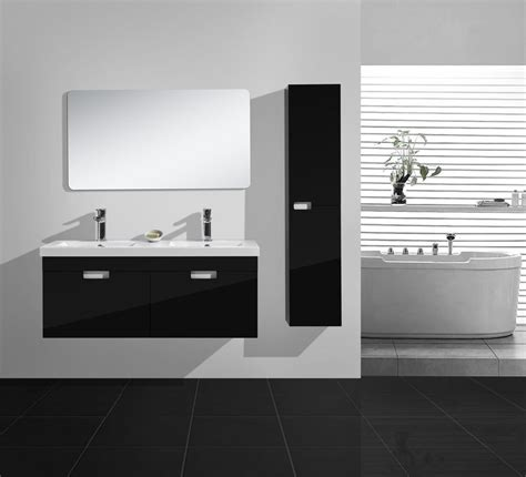 schwarze badmöbel badm 195 182 bel duschdeals