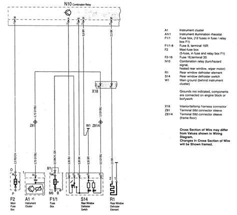 mercedes benz    wiring diagrams rear
