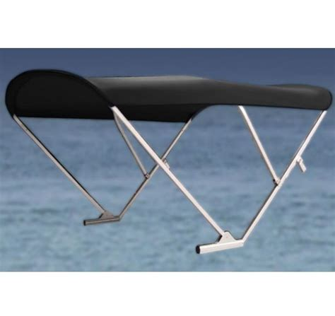 electric bimini boat top electric automatic power pontoon bimini top with black frame
