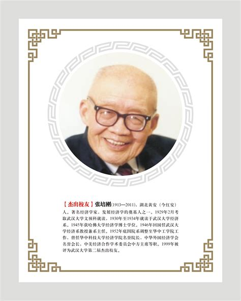 Whu Mba Placements by 张培刚 杰出校友 武汉大学经济与管理学院