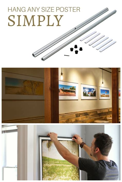 what to use to hang posters use posterhanger to decorate your home hang a photo