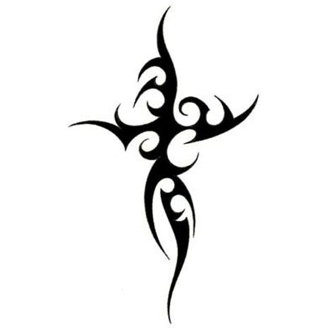tribal cross tattoo 22 beautiful tribal cross tattoos only tribal