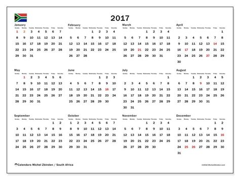 printable monthly calendar 2017 south africa free calendars for 2017 to print south africa boredom
