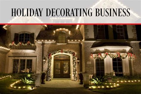 holiday decorating business