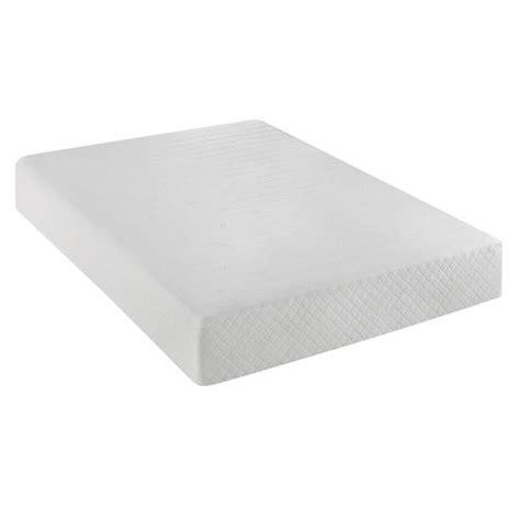 Mattress Warranty by Serta 10 Inch Gel Memory Foam Mattress With Year Warranty