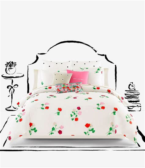 Kate Spade Set 2in1 kate spade new york willow court scattered floral twill comforter mini set dillards
