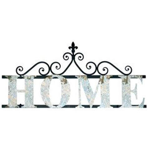 Word Art Home Decor by Amazon Com Metal Wall Decor Sign Quot Home Quot Features