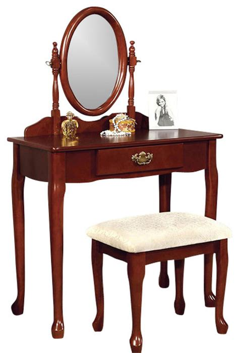 Solid Wood Bedroom Vanity Set by Vanity Set Make Up Table Solid Wood Padded Stool Drawer