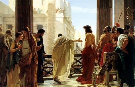 imagenes de jesus ante pilato imagenes religiosas foto de cristo y pilato