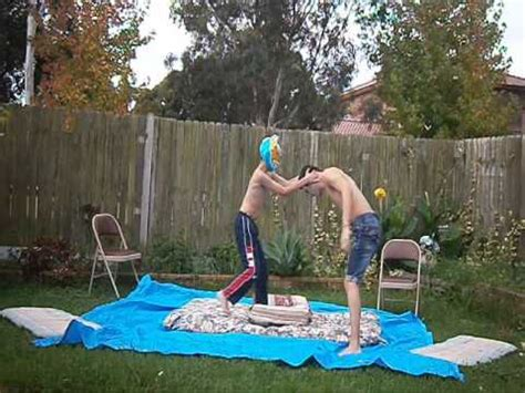 backyard catfight wwe john cena vs sin cara backyard wrestling youtube