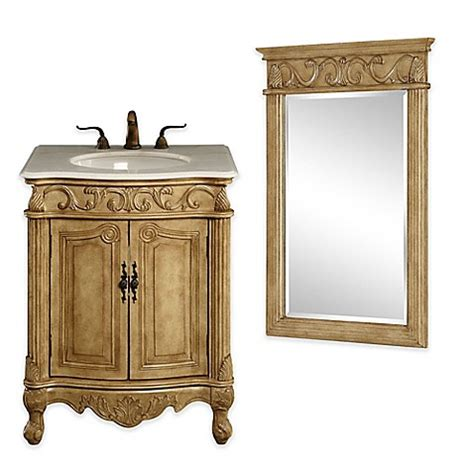 beige bathroom vanity isabella bathroom vanity collection in antique beige bed bath beyond