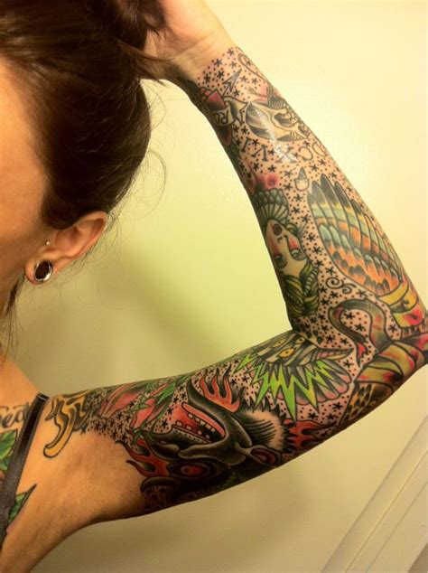 filler tattoo best 25 sleeve filler ideas on