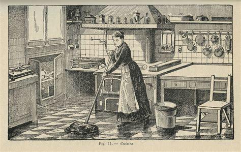 femme au foyer 1900 une cuisine fonctionnelle les collections 224 table