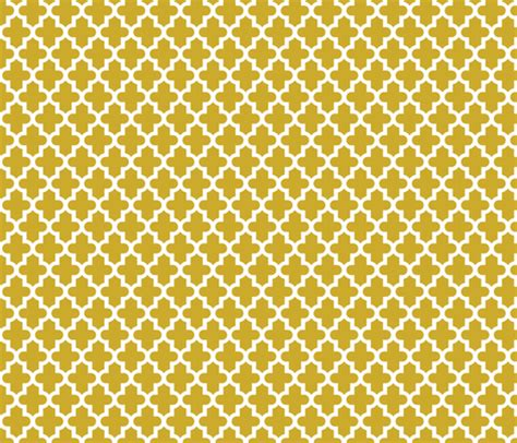 gold quatrefoil wallpaper gold moroccan fabric sweetzoeshop spoonflower
