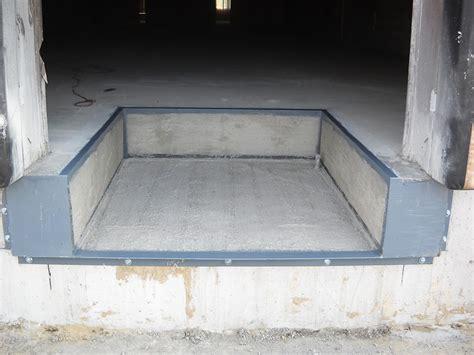 High Speed Door Dock Equipment Projects Pit Installation