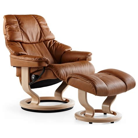 stress recliners stressless reno large recliner ottoman from 2 995 00 by