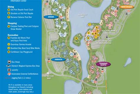 caribbean resort map two leisure pools closed for refurbishment at disney s