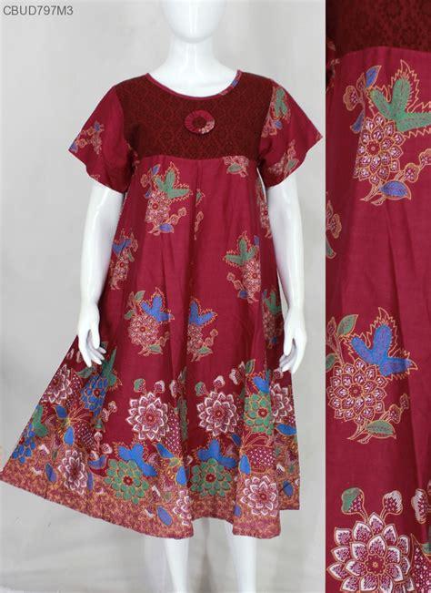 Daster Ibu Harga Grosir Motif Bunga Limited daster batik motif bunga daster longdress babydoll murah batikunik