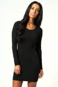 black bodycon dress sleeve bodycon dress dressed up