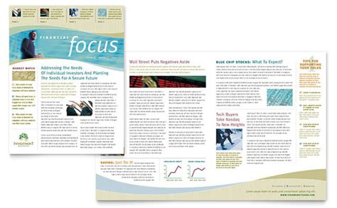template indesign letter free indesign template of the month newsletter layout