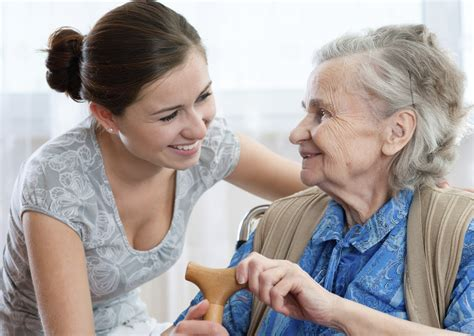 caregiver with home care home care
