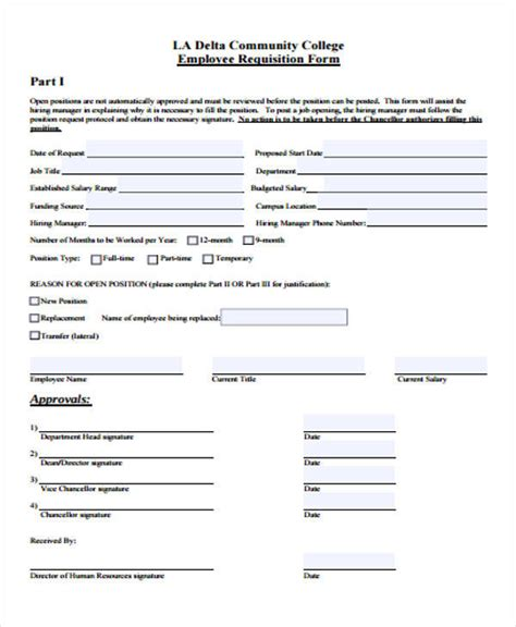 personnel requisition form sle pictures to pin on