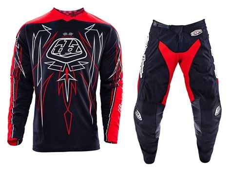 ebay motocross gear troy lee designs new 2016 mx gp pinstripe black red