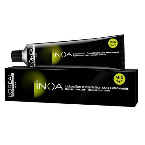 l oreal inoa no 2 with 6 20vol inoa developer permanent hair color brown darkest 60 gm buy l loreal inoa ammonia free hair color