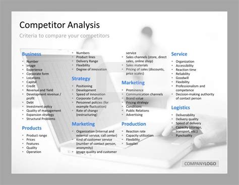 competitor analysis template powerpoint best 10 competitor analysis ideas on