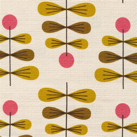mid century upholstery 4 new retro barkcloth designs from jessica jones and cloud