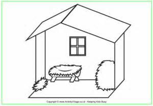 coloring pages of stable stable colouring page