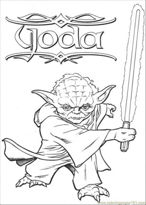free yoda coloring page coloring pages master yoda cartoons gt star wars free