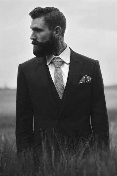 neck tattoo suit mensfashion gentleman men fashion suit jacket