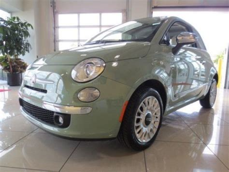 Fiat 500 Gucci Convertible For Sale Buy Used 2012 Fiat 500c Gucci Black Convertible In New