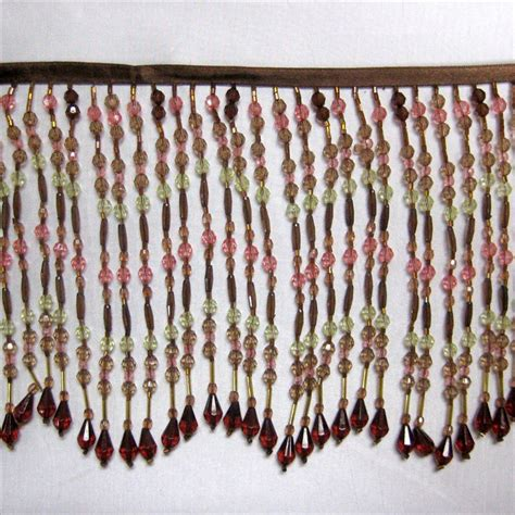 beaded fringe trim glass beaded fringe trim images