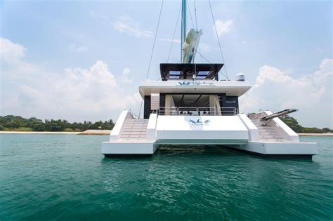 sailing boats for sale in singapore 2017 sunreef supreme 68 s sail boat for sale www