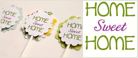 printable housewarming cupcake toppers make it cozee housewarming party ideas pin it and do it