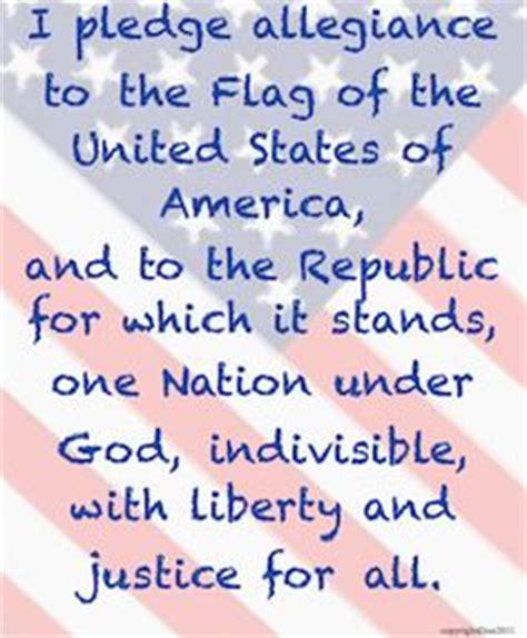 printable lyrics to the pledge of allegiance 1000 images about pledge of allegiance on pinterest
