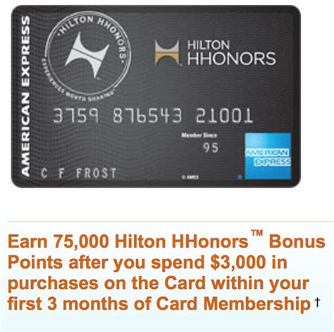 hilton hhonors card from american express earn hotel earn 75 000 hilton hhonor points with the surpass card