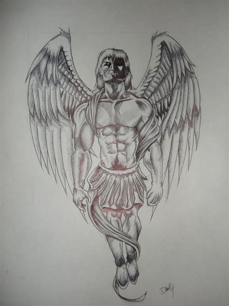 guardian angel tattoo designs for men beautiful guardian design