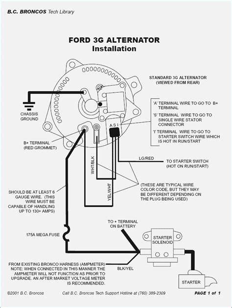 mustang alternator wiring diagram new wiring diagram 2018