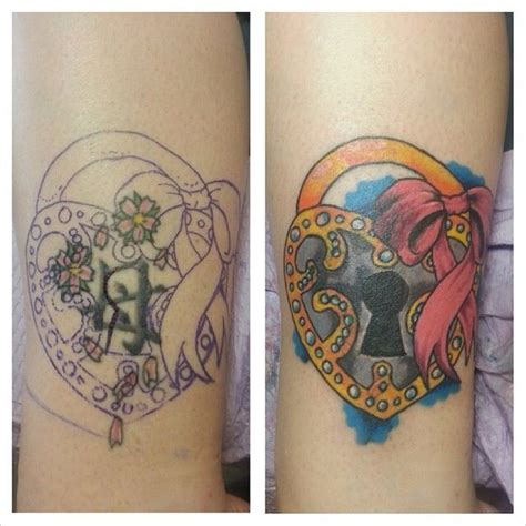 quick and easy tattoo cover up this is the before after pic of the cover up tattoo i