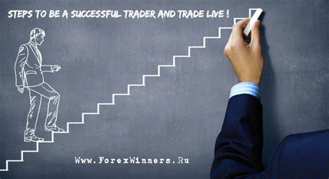 The Successful Trader steps to be a successful trader and trade live forex