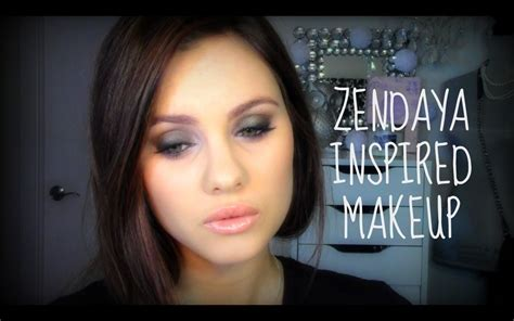 makeup tutorial zendaya zendaya inspired makeup tutorial youtube