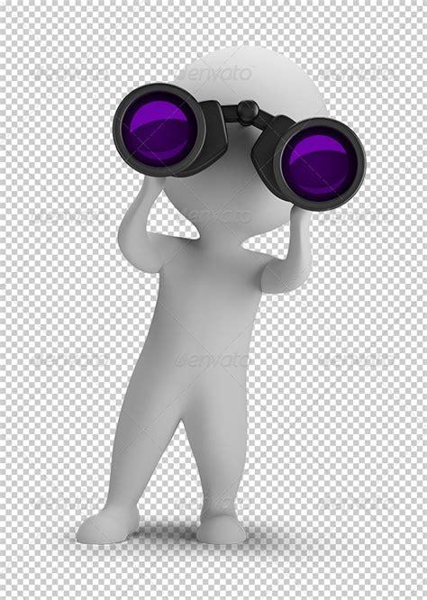 small people   binoculars  anatolym