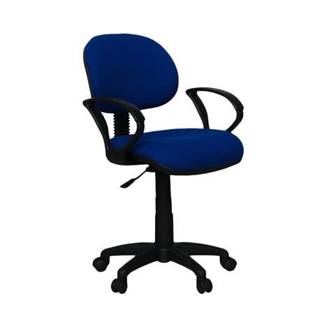 Ergosit Kursi Kantor Biru jual ergosit g arm biru kursi kantor